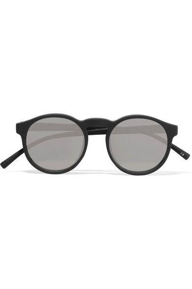 865fcd3d447 LE SPECS Cubanos round-frame rubber sunglasses.  lespecs  sunglasses ...