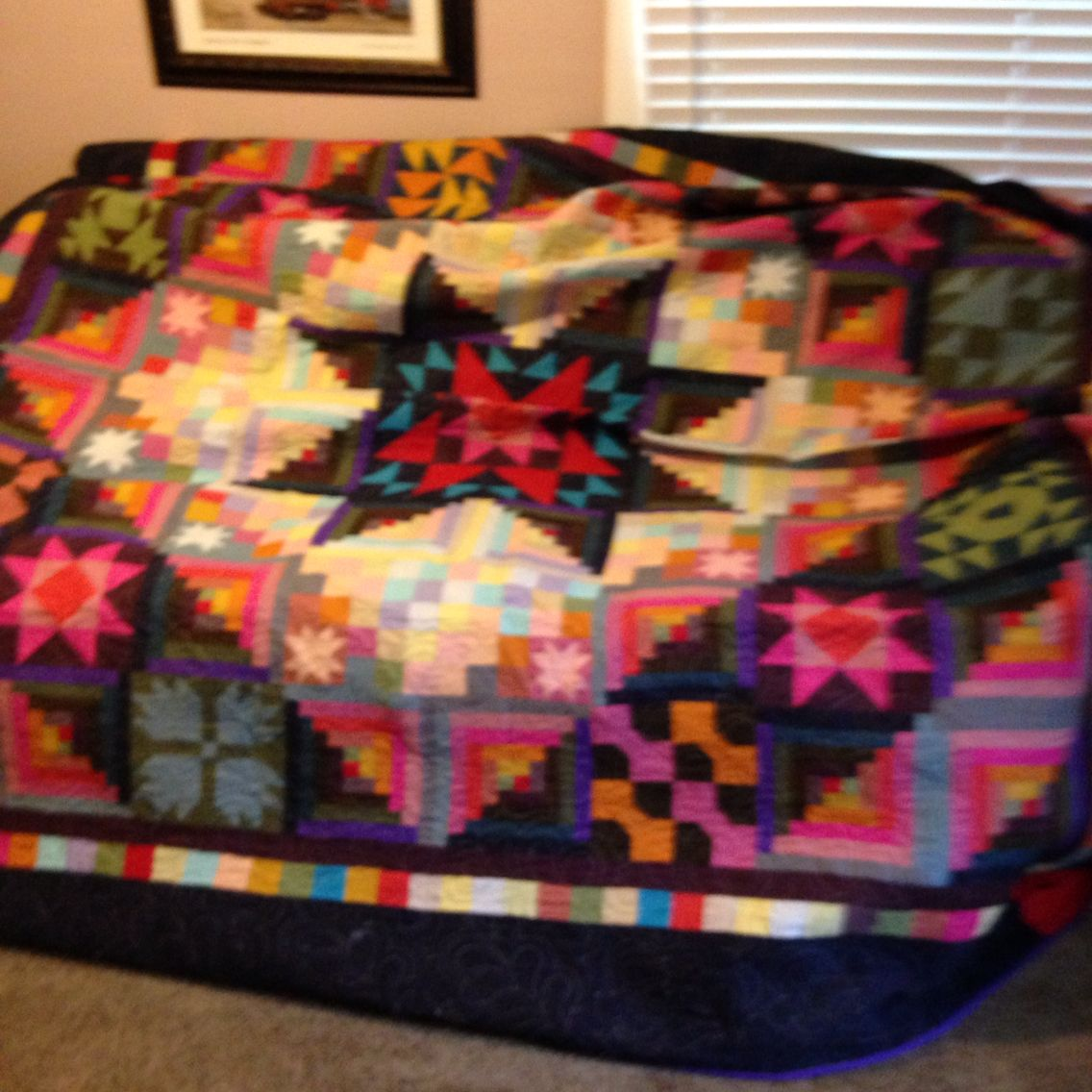 Amish twisted star 2014 Quilts, Blanket, Amish