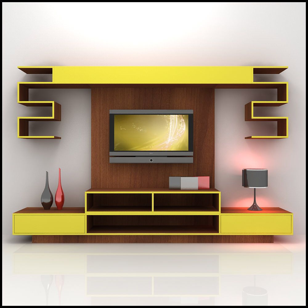 The Change of Tables of TV Wall Units Ahap duvar nitesi