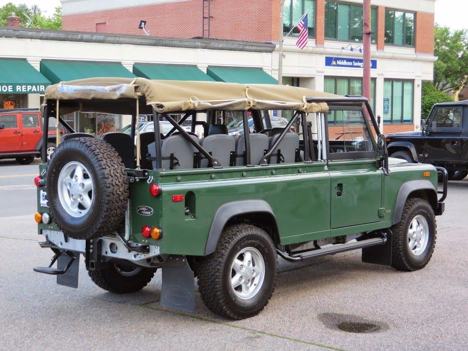 1994 Land Rover Defender 110 Convertible Copley Motorcars Land