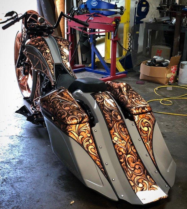 This Paint Job Is Nice Custom Baggers Custom Motorcycle Paint Jobs Motorcycle Paint Jobs
