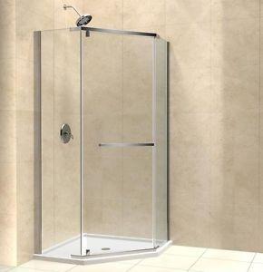 34 Corner Shower Neo Angle 34 X 34 X72 Dreamline Prism 3 8