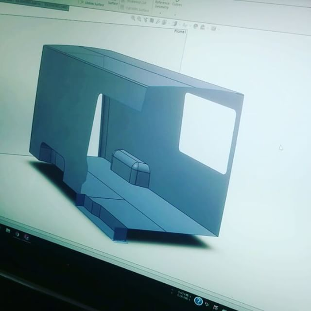 Completed the CAD model for the interior of the sprinter van