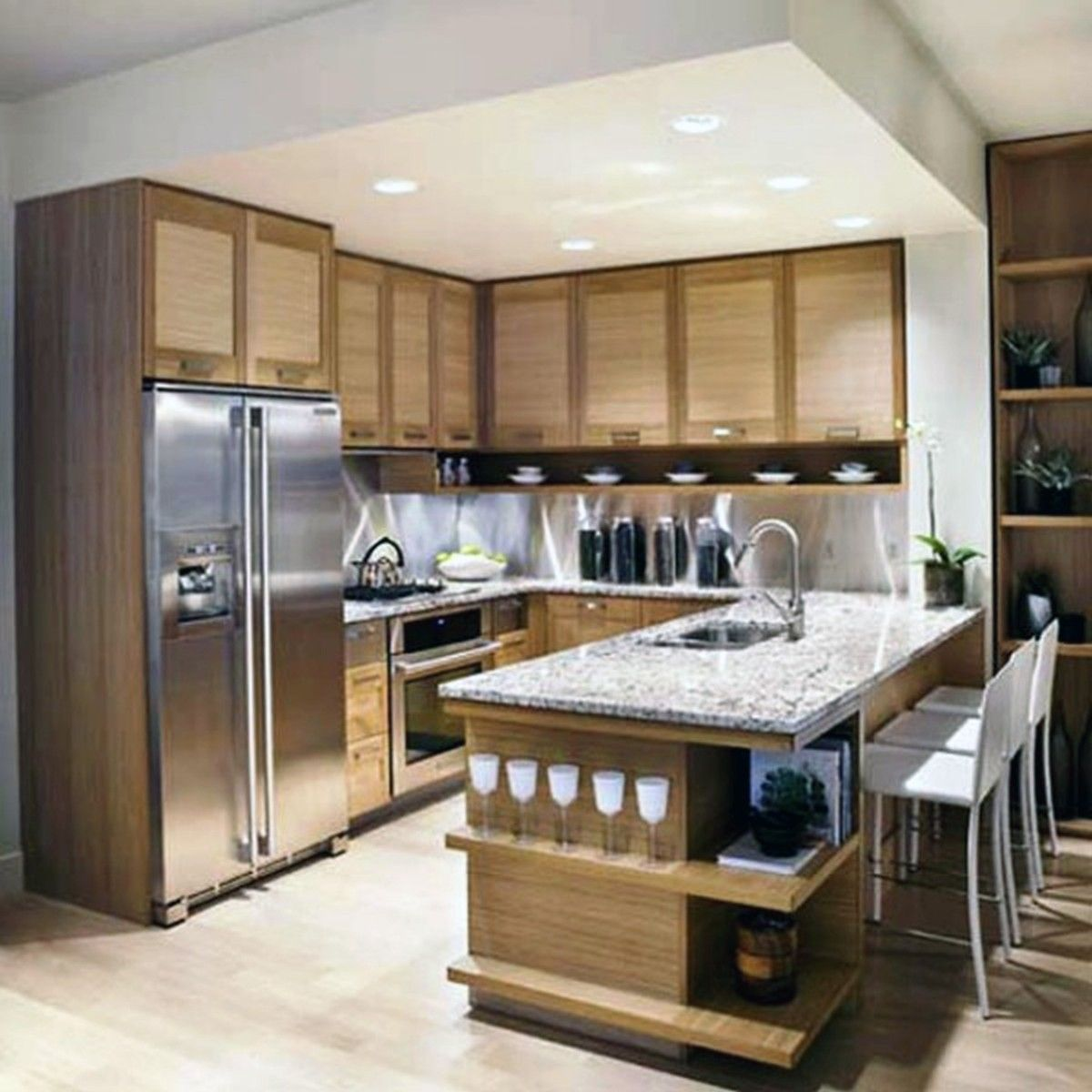 Kitchen Cabinet Design Ideas For Small Spaces: Kitchens Designs, Wonderful U Shaped Kitchen Designs For