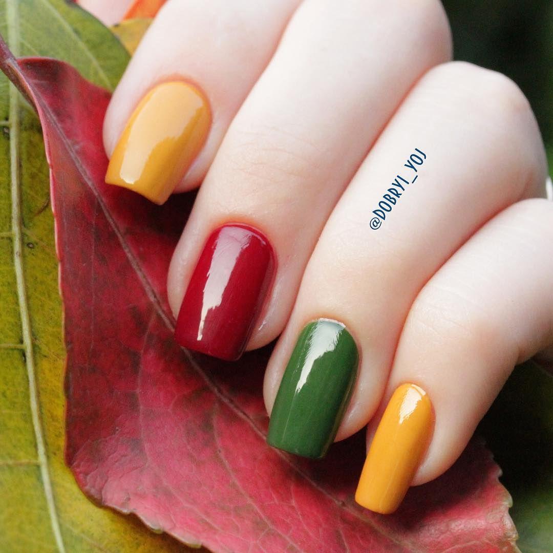 Me recuerda al dulce de frutas | Fall Nails | Pinterest | OPI ...