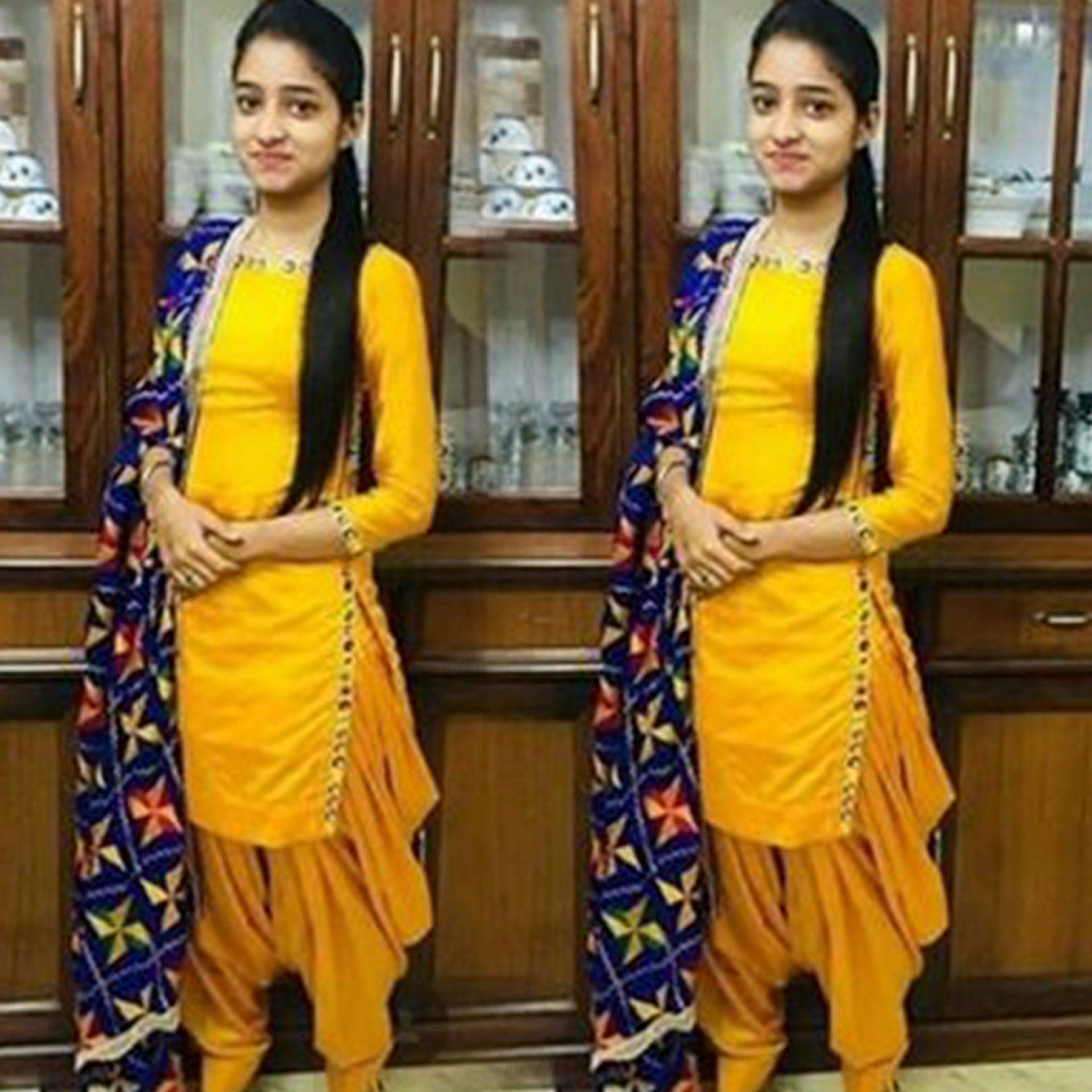 Always Look Adorable In Patiala Suit So Girls Ready To Wear