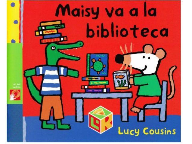 Maisy va a la biblioteca (con imágenes) | Libros para niños, Libro ...