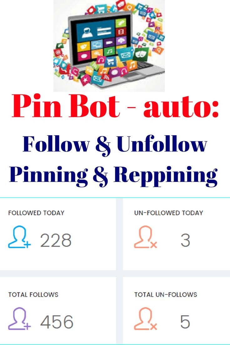 Auto followers software that will auto follow, unfollow, auto pin