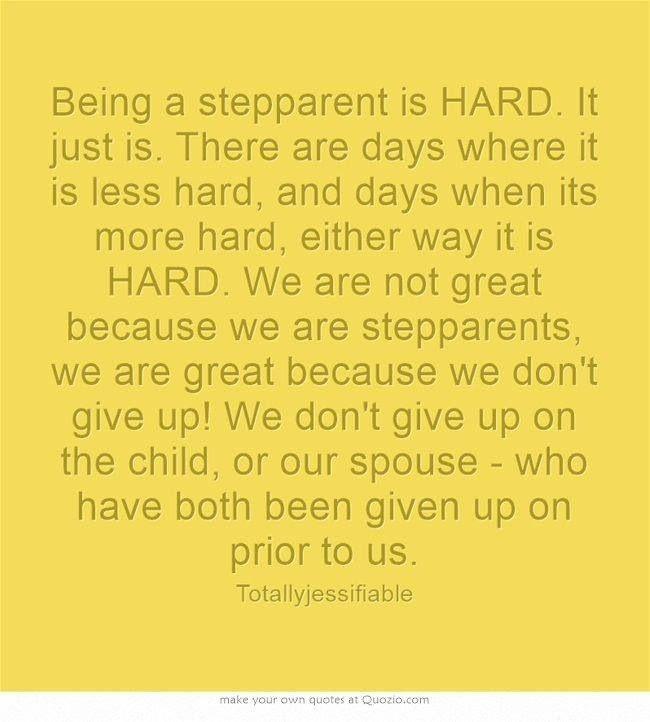Step Parenting is HARD. #parentingishard | Step parents ...