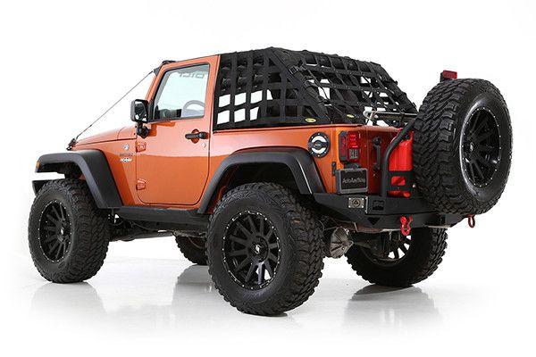 2007 2016 Jeep Wrangler 2 Door Smittybilt C Res Hd Cargo Restraint System Jeep Wrangler
