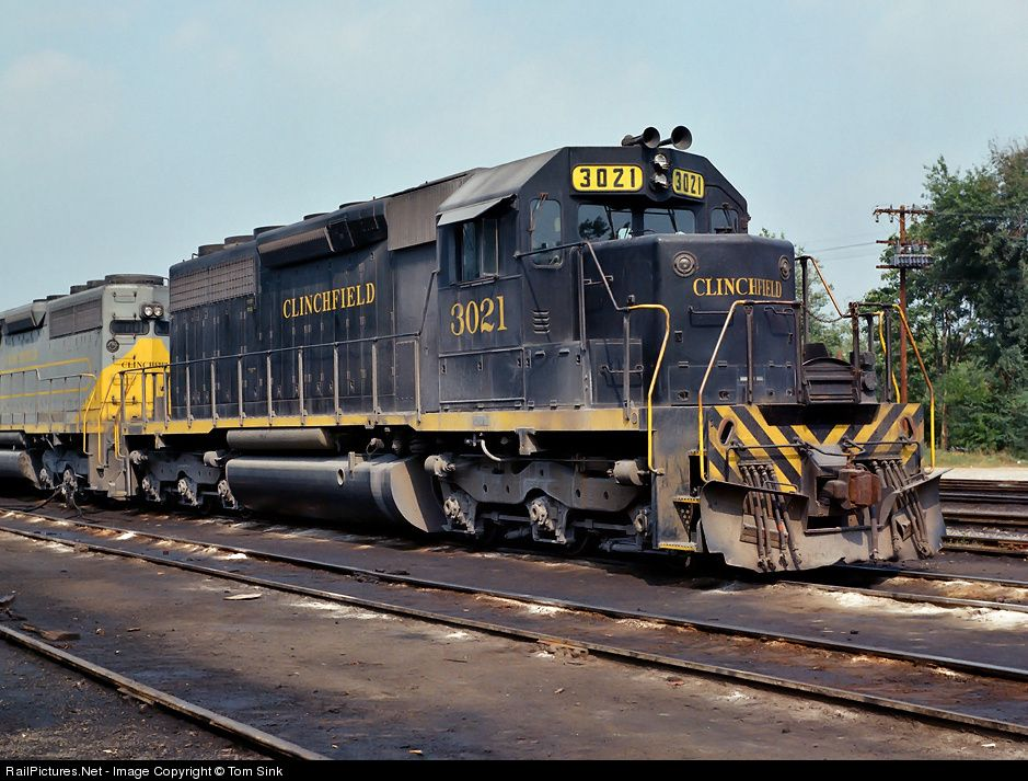 Photo CRR 3021 Clinchfield Railroad EMD