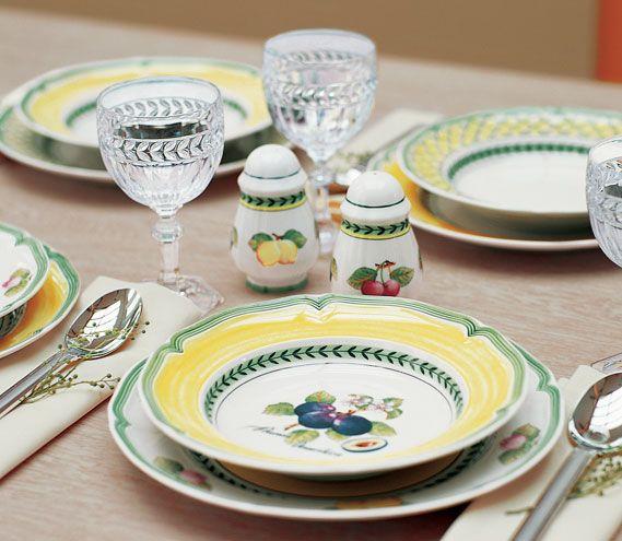 French Garden Dinnerware By Villeroy Amp Boch Ev