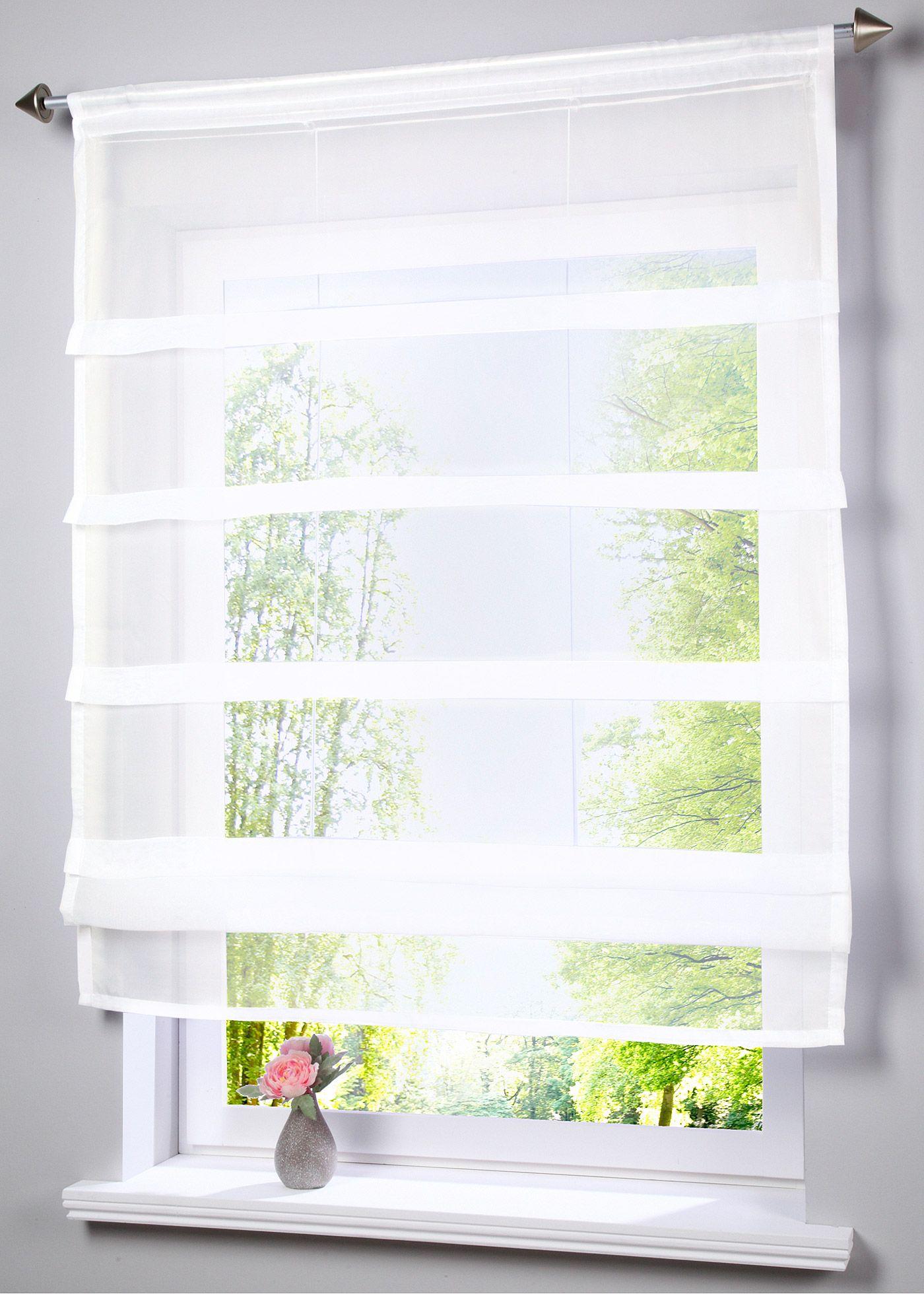 Raffrollo Für Küchenfenster | Zazdrostki Country Landhaus Gardinen ...