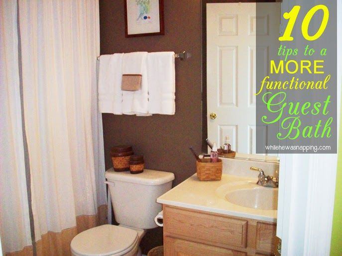 10 Easy Ways to Make Your Bathroom More Functional Kid bathrooms