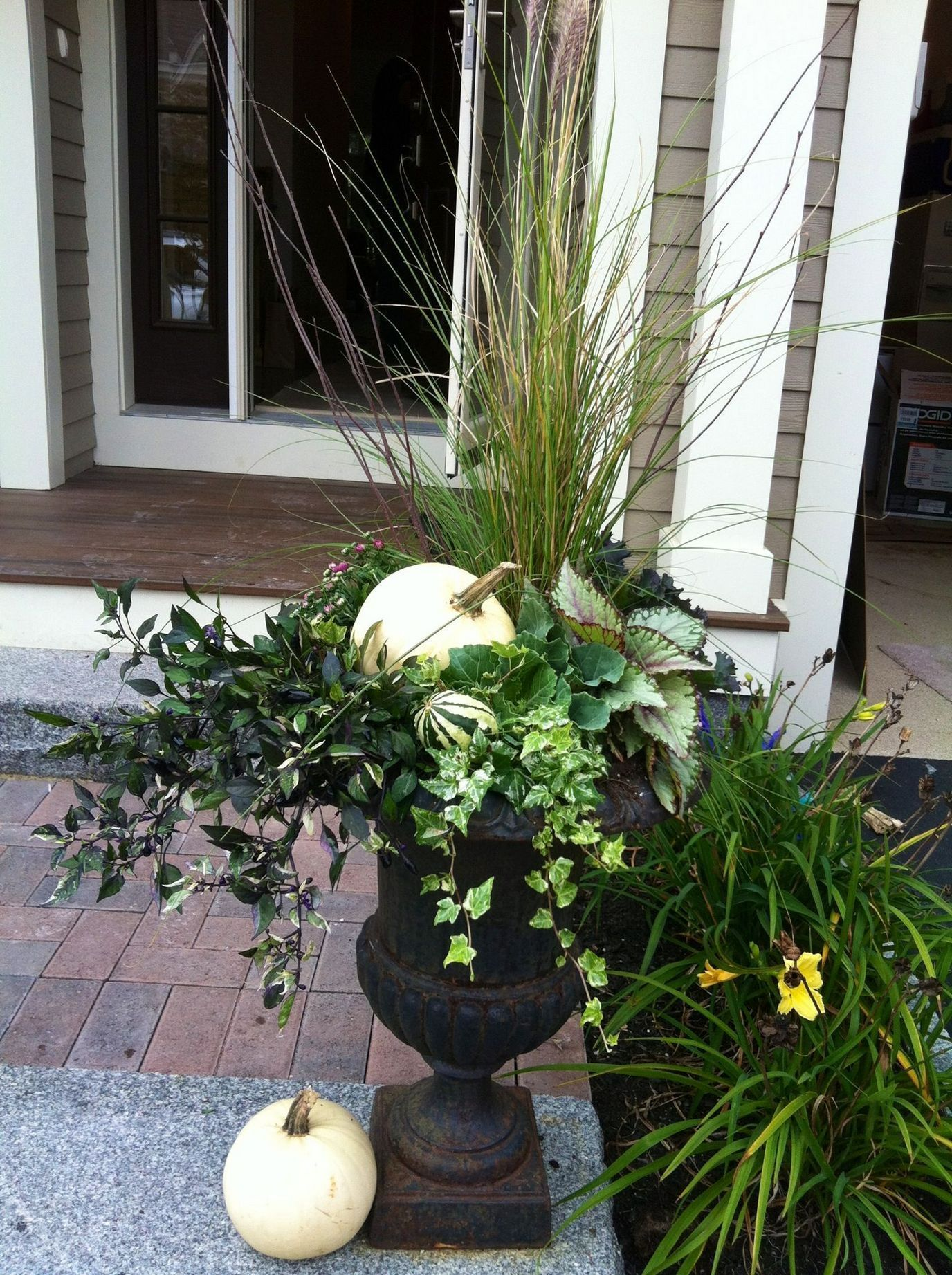 Fall container gardens ideas 50 Inspira Spaces