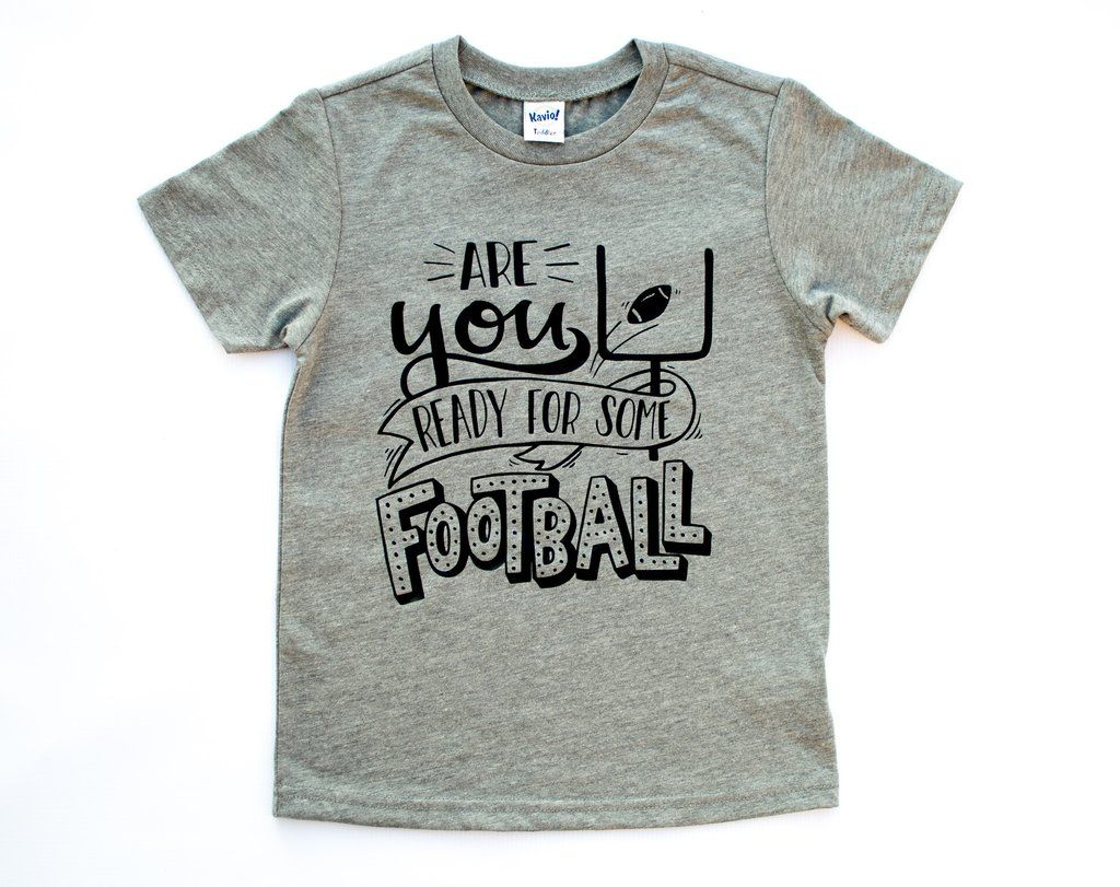 Kids Team Football Image Tee
