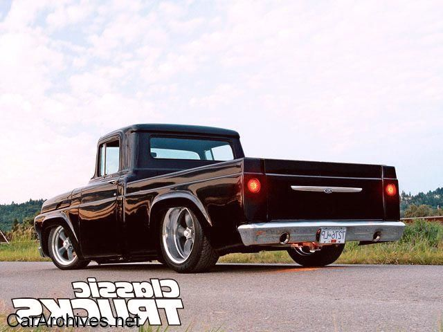 1959 F100 Custom Cab Restomod | Classic trucks | Pinterest ...