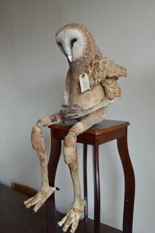Owl children. Mister Finch http://www.mister-finch.com/