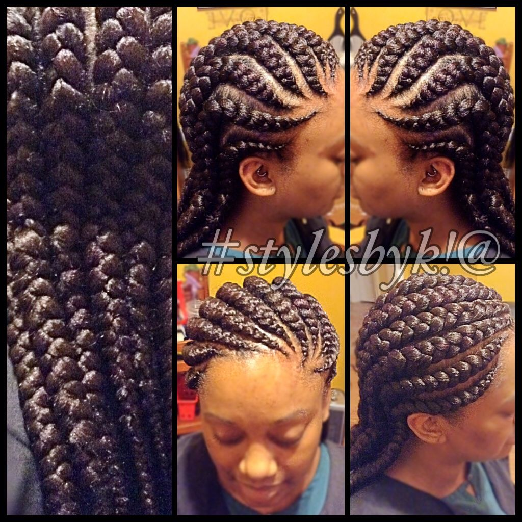 Jumbo Ghana Cornrows Using Xpressions Braiding Hair Cool Braid Hairstyles Braided Hairstyles Hair Styles