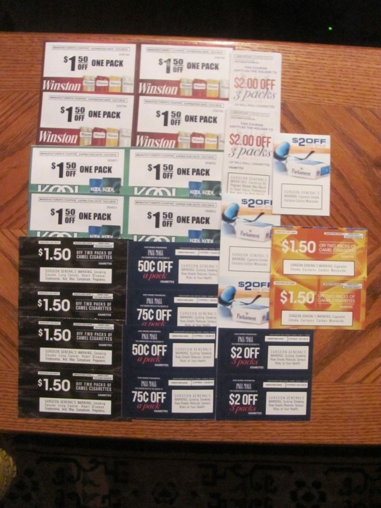 image about Printable Grizzly Tobacco Coupons known as 25 WINSTON, CAMEL, PALL Shopping mall, PARLIAMENT CIGARETTE TOBACCO