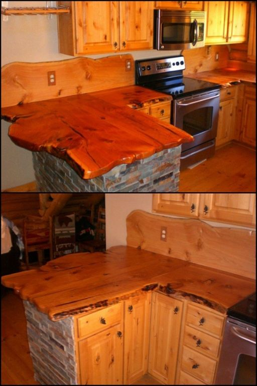 A Cabin Or A Rustic Themed House Isn 39 T Complete Without A Rustic Kitchen