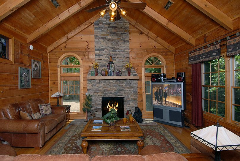 Above gatlinburg 4 bedroom cabin rental timber tops - 4 bedroom cabins in gatlinburg tn ...