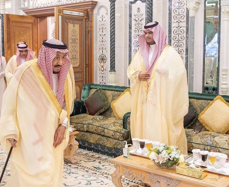 الملك سلمان وابنه راكان Face Art Salman Of Saudi Arabia Royal