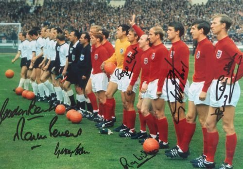 England 1966 world cup signed hurst #peters #banks wilson cohen hunt #charlton,  View more on the LINK: http://www.zeppy.io/product/gb/2/162261118650/