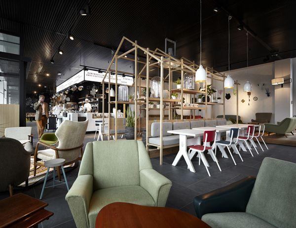 Bar Marie By Simone Pullens Via Behance