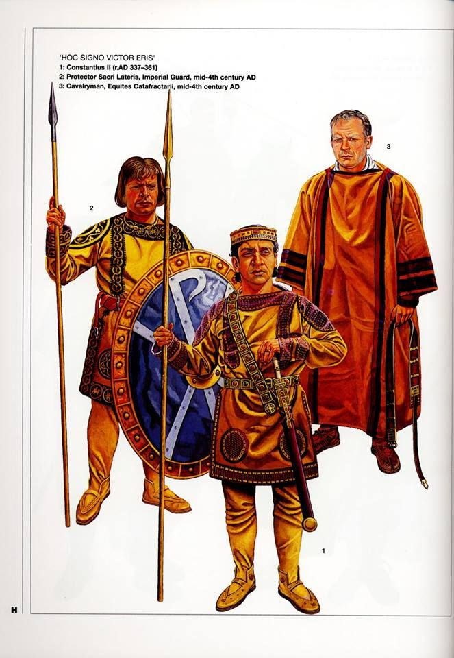 H 39 hoc signo victor eris 39 1 constantius ii r ad 337 361 2 protector sacri lateris imperial - Italian ad hoc interviste ...