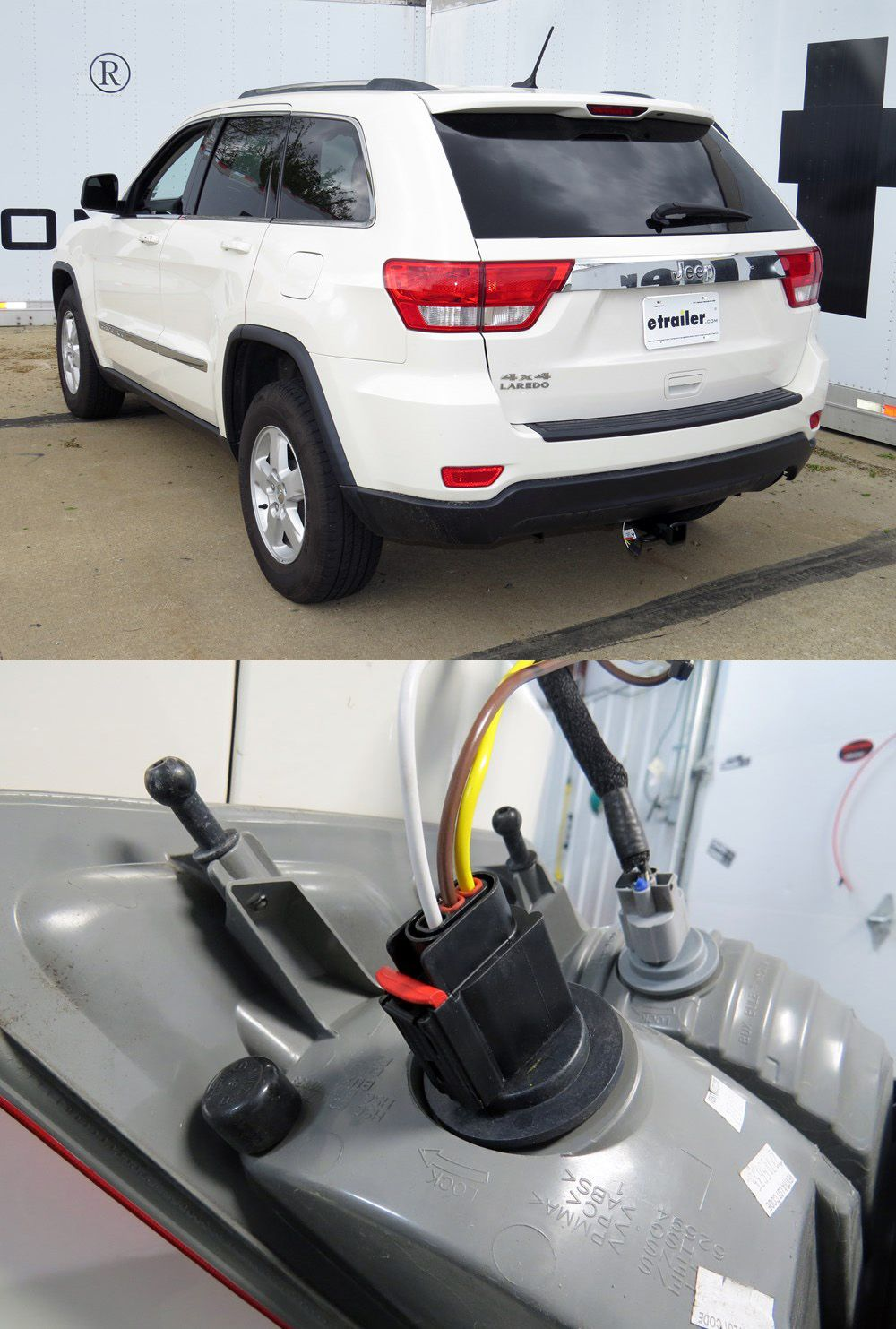 hight resolution of tow ready custom fit vehicle wiring for the grand cherokee by jeep watch the video of the quick and easy installation provides a 4 way flat trailer
