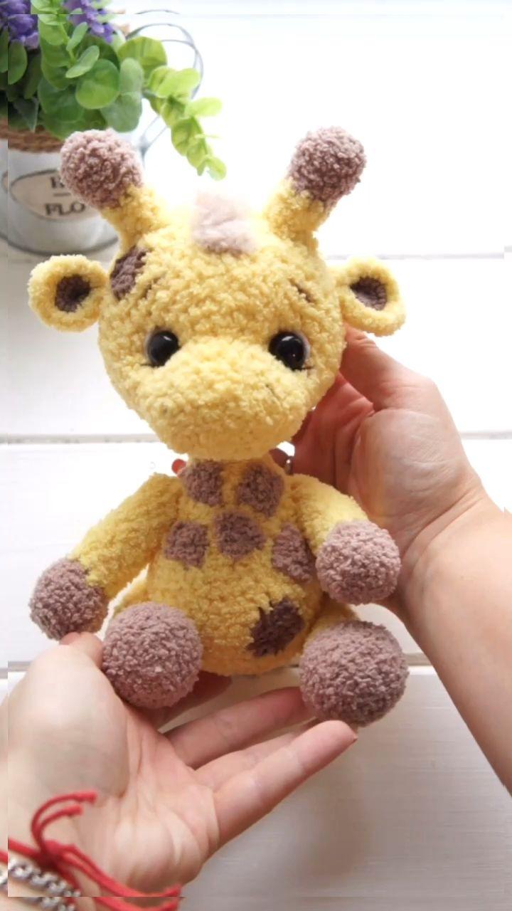 Photo of Giraffe Crochet Amigurumi Pattern.Giraffe pattern. crochet | Etsy