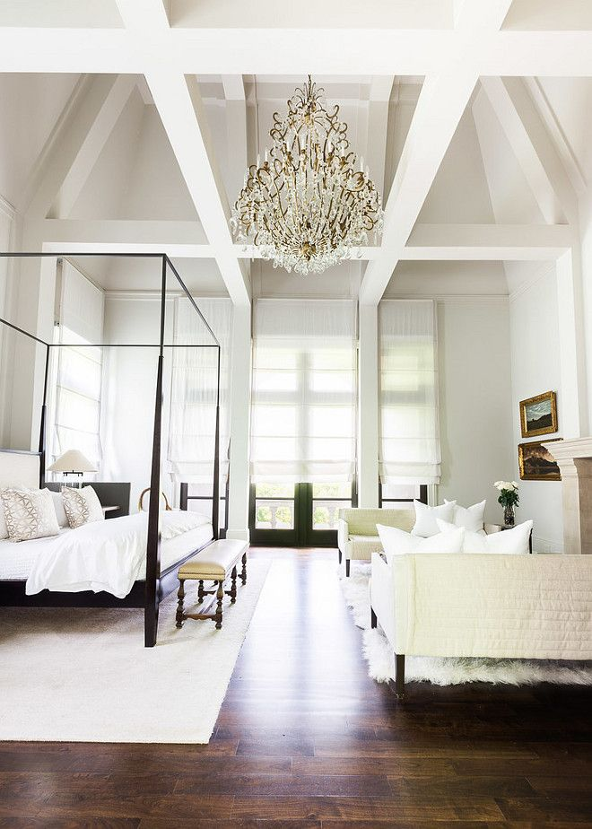 Master Bedroom High Ceiling In Master Bedroom Master Bedroom Chandelier Master Bedroom Flooring Master Luxurious Bedrooms Bedroom Inspirations Home Bedroom
