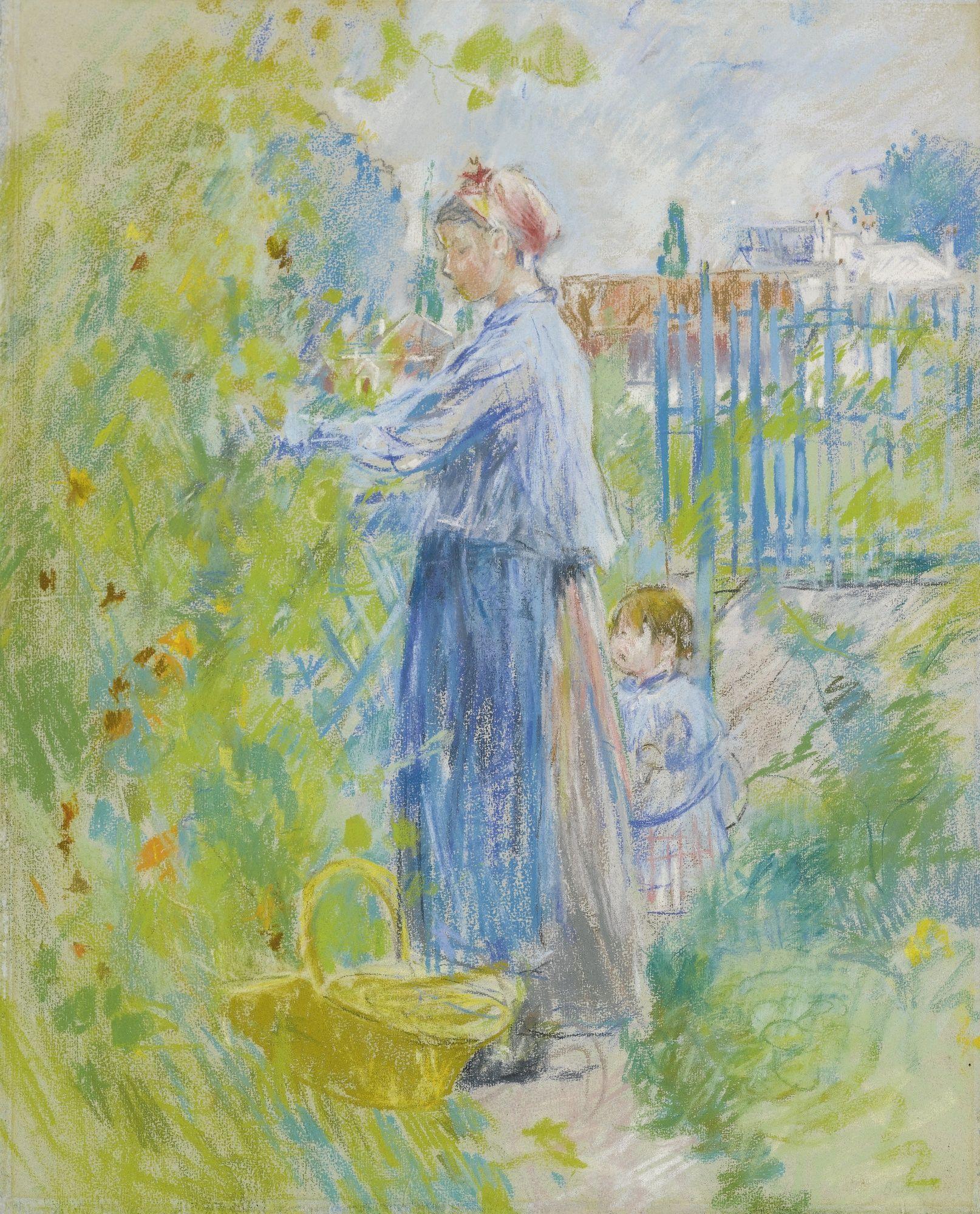 morisot, berthe les capucines | abstract | Berthe morisot, Morisot, Art