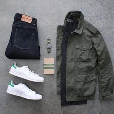 Follow @inisikpe for daily style #suitgrid to be featured ________________________________________ #SuitGrid by @awalker4715 ________________________________________ Tap For Brands #inisikpe Jacket: @jcrew Shirt/Denim: @loyalcollective Shoes: @adidasoriginals Watch: @omega Notepad: @calepino