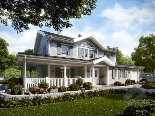 rosenhill von eksj hus stadtvilla satteldach mehrfamilienhaus mit atrium pinterest. Black Bedroom Furniture Sets. Home Design Ideas