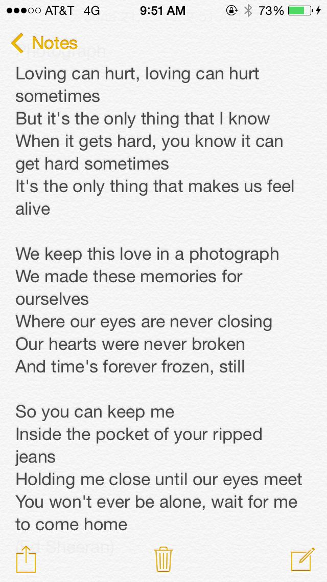 Lyric forever full house lyrics : Ed Sheeran Photograph love these lyrics❤ | Random | Pinterest ...