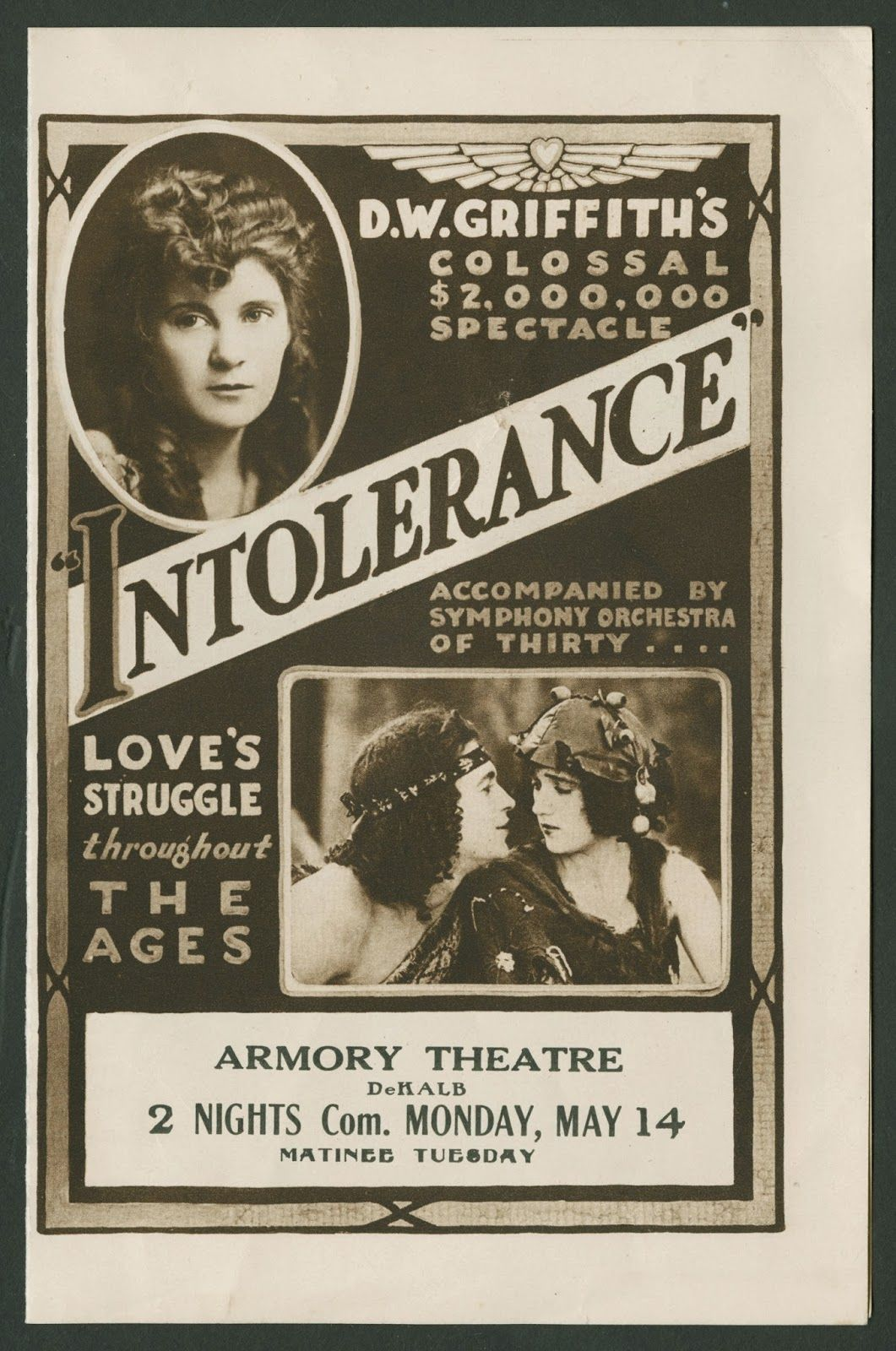 Image result for dw griffith intolerance talmdage