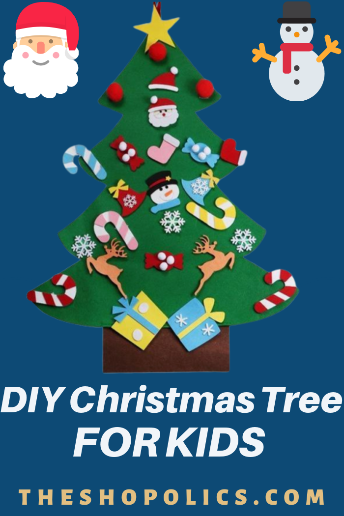 Diy Christmas Tree For Kids Christmas Trees For Kids Christmas Diy Diy Christmas Tree