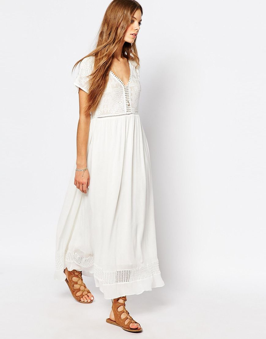 DRESSES - Long dresses Suncoo Sale Wiki Cheap Sale Manchester KKp0c6t
