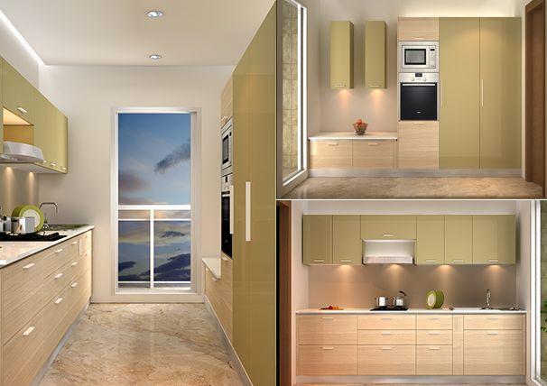Parallel Kitchen Design Ideas For India Google Search Kitchen