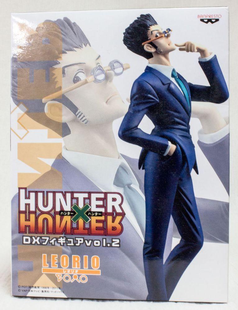 Hunter x hunter leorio dx figure vol2 banpresto japan