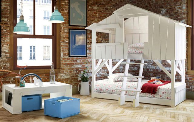 Hausbett Etagenbett : Hausbett kinderzimmer kinderbetten belgien und