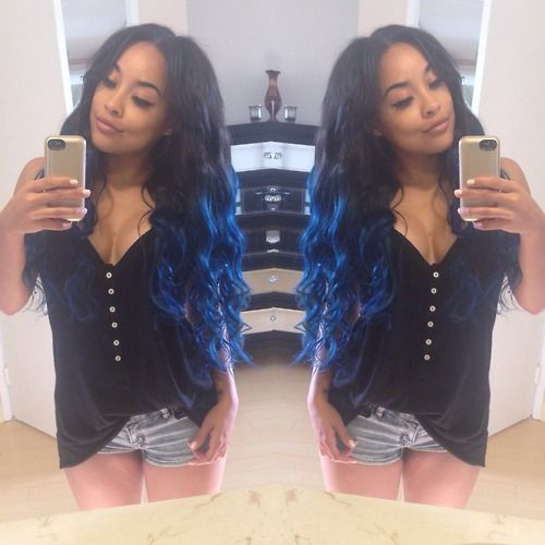 Blue Hair!!! | Hairstyles | Pinterest
