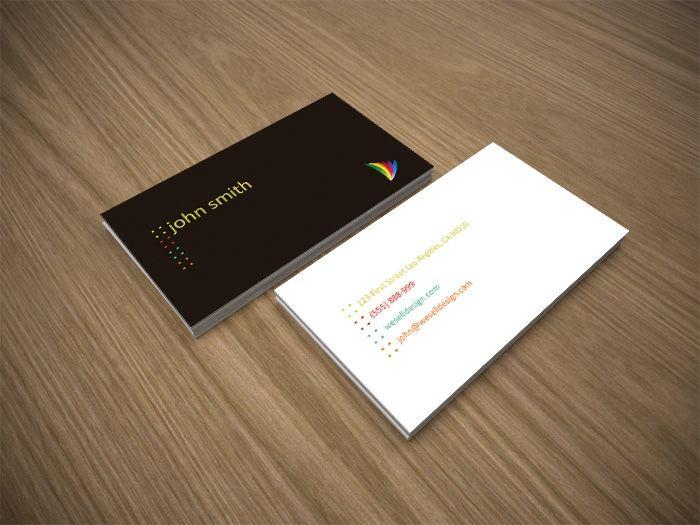 Шаблон для визиток скачать бесплатно psd