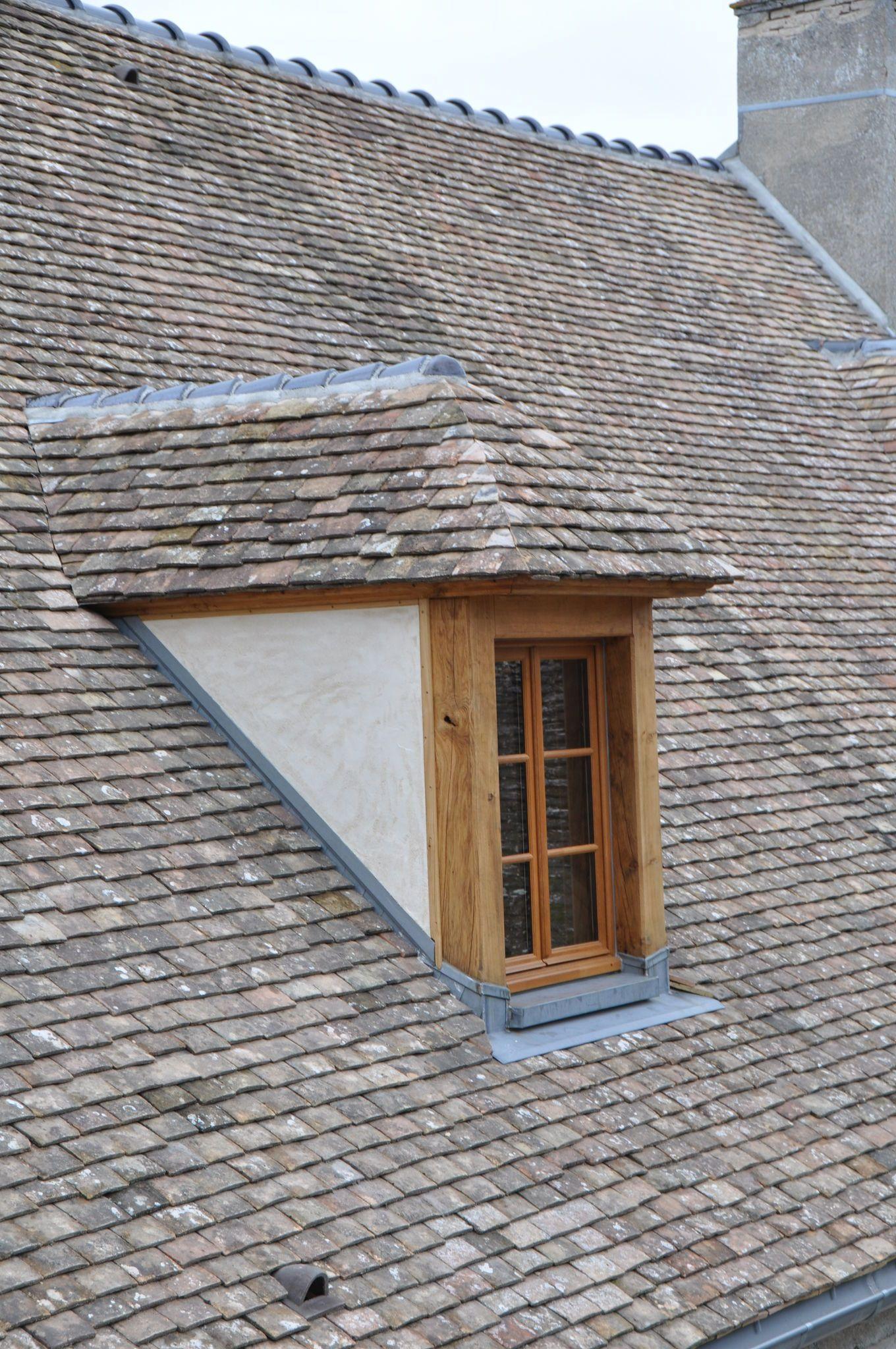 lucarne capucine en chêne | lucarnes | Lucarne de toit, Lucarne et ...