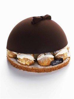 Dessert de noel   gâteau original   desserts sucré Dalloyau