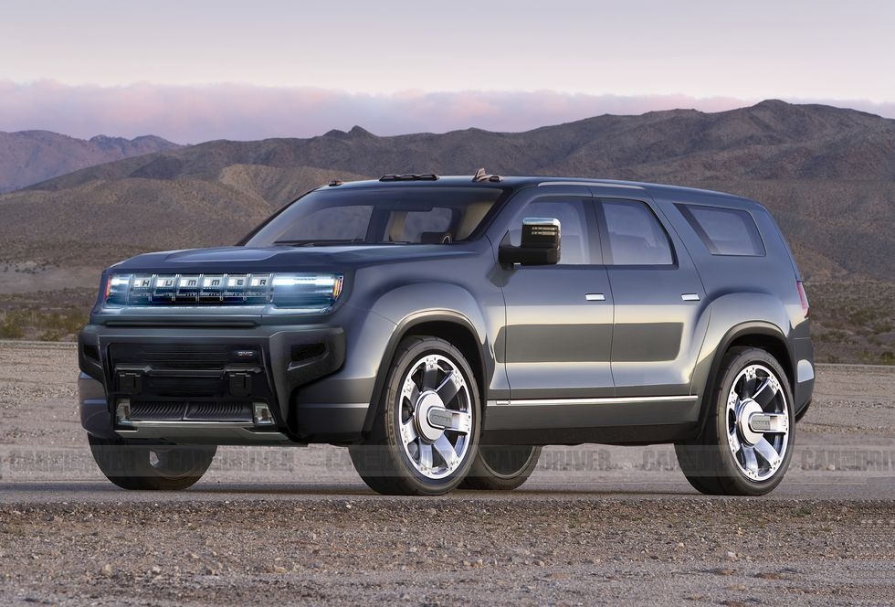 There S Also An Electric Gmc Hummer Suv Coming Ev Suv Hummer Suv Models