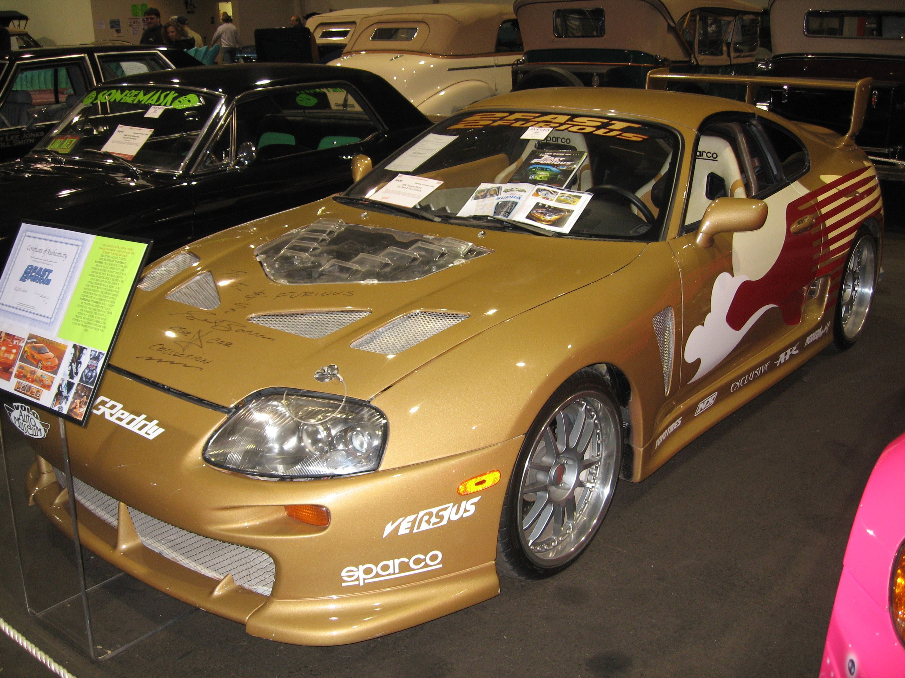 Toyota Supra Turbo MkIV From Fast Furious Toyota - 2 fast 2 furious cars