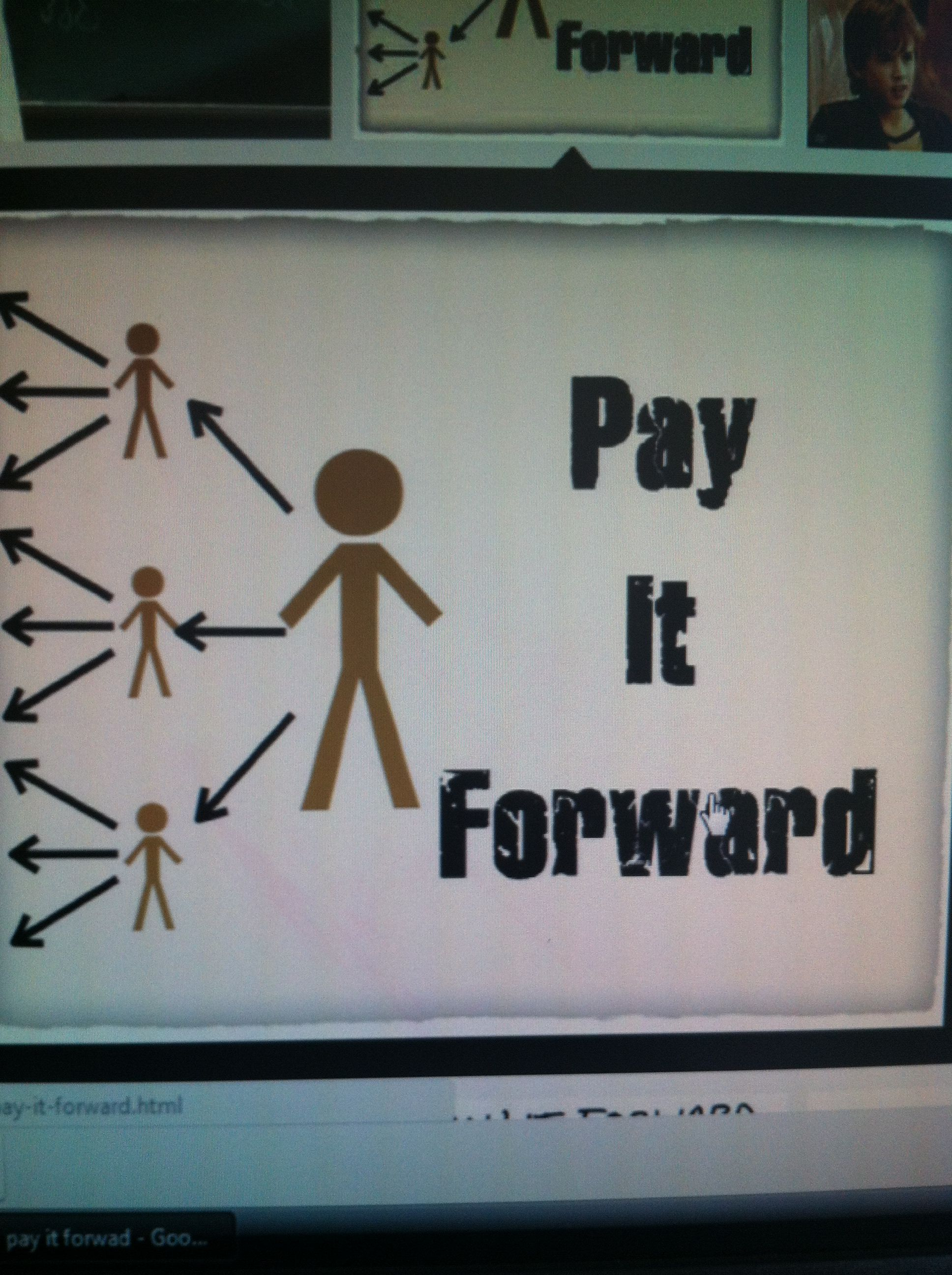 Pay it Forward Day 25th April Paying it forward quotes